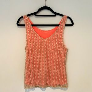 Willow and Clay beaded Top